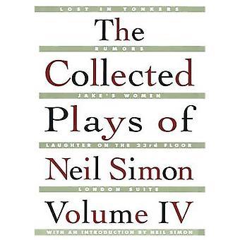 De insamlade lekarna av Neil Simon - Vol 4 av Neil Simon - 978068484785