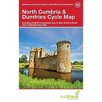 North Cumbria & Dumfries Cycle Map 35 - Including Hadrian's Cycleway -