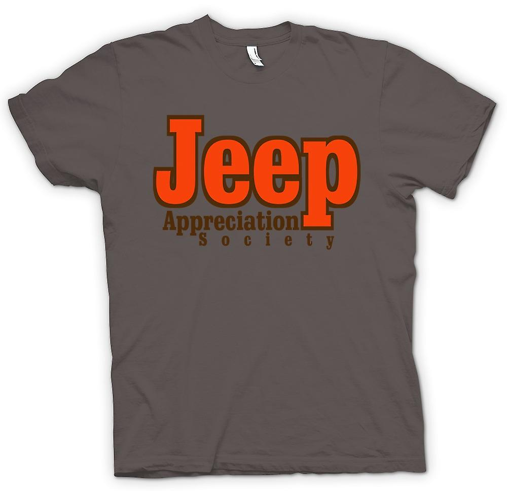 Mens t-shirt-Jeep Appreciation Society