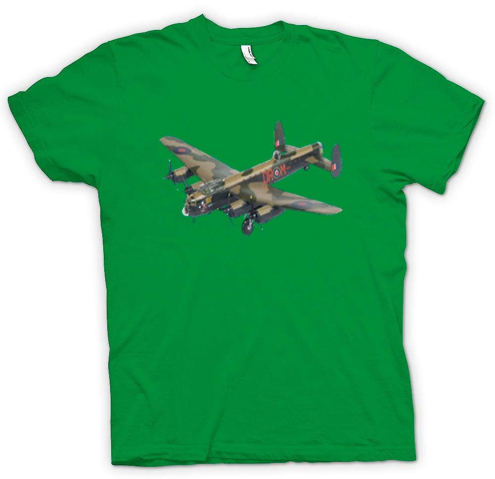 Mens T-shirt - Fighter Plane Bomber Camouflage