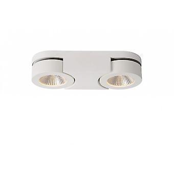 Lucide Mitrax Modern Oval Aluminum White Ceiling Spot Light