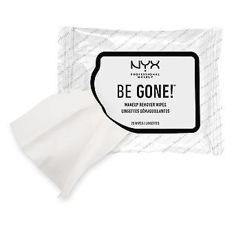 NYX maquiagem de Prof ser toalhetes de removedor de maquiagem fora
