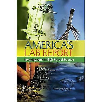 Relatório do laboratório da América: investigações em ensino médio ciência