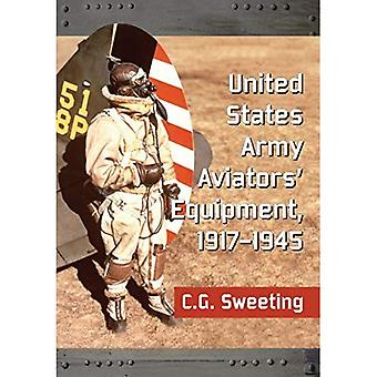 Verenigde Staten leger piloten apparatuur, 1917-1945
