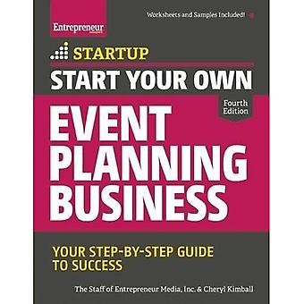 Start Your Own Event Planning Business (Startup Series)