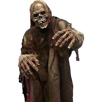 Flesh Eater Latex Mask For Halloween