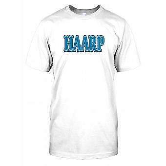HAARP - High Frequency Active Auroral Research Program - cospirazione Mens T-Shirt