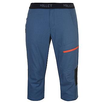 Millet Mens Amuri Three Quarter Climbing Pants Performance Shorts Trousers