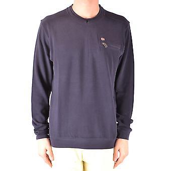 Napapijri Blue Cotton Sweater