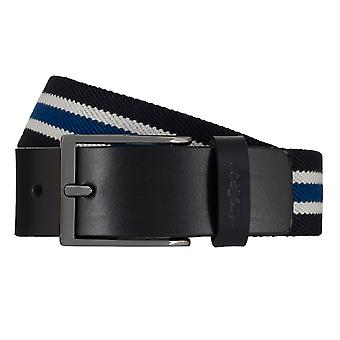 Strellson belts men's belts woven belt stretch belt Blau 7948