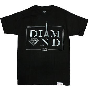 Diamond Supply Co Paris T-shirt Black
