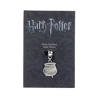 Harry Potter Silver Plated Potion Cauldron Slider Charm