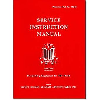 Triumph TR2 and TR3 Workshop Manual (4th Revised edition) by Brooklan
