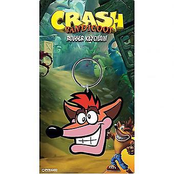 Crash Bandicoot PVC Keyring Crash