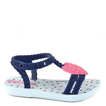 Ipanema Baby My First Heart Navy Pink Sandal