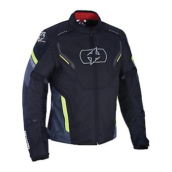 Oxford Black-fluorescente Melbourne 3,0 giubbotto moto impermeabile