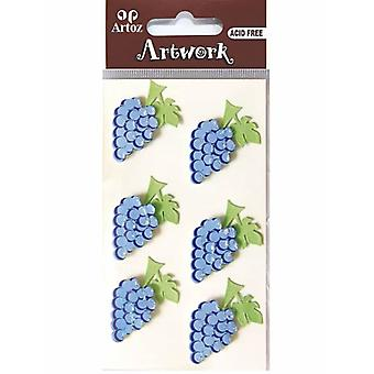 Bunch Of Grapes Craft Embellishment By Artoz