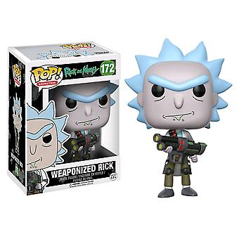 Rick and Morty Rick Weaponized (with chase) Pop! Vinyl
