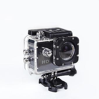 Hd 1080p sport camera 170 degree wide-angle lens waterproof diving video camera - black (1012-1248)