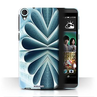 STUFF4 Case/Cover for HTC Desire 820s Dual/Book/Paper Flower/Abstract Art