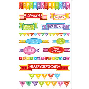 Mrs. Grossman's Stickers Birthday Banners Mg199 14815