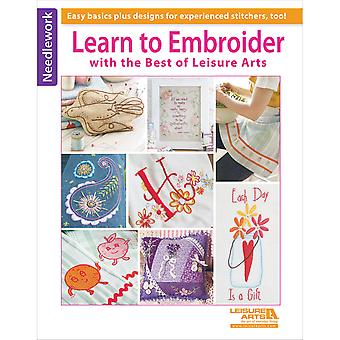 Leisure Arts Learn To Embroider With The Best Of La 6158