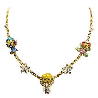 Butler & Wilson änglar och stjärnor i kristall halsband
