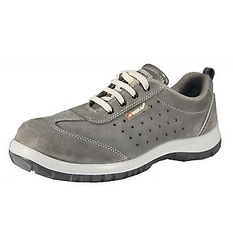 JERIKO 240 work safety shoes of sneaker S1 SRC leather or suede velour