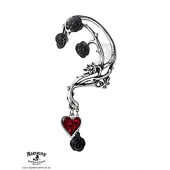 Alchemy Gothic Bed of Blood Roses Ear Wrap