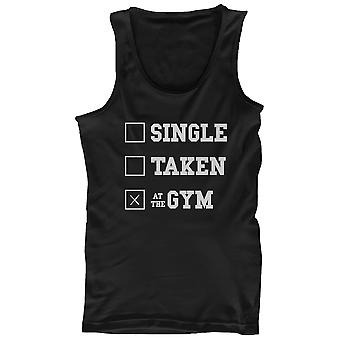 Work Out Tank Top - At the Gym - Funny Workout Lazy Tanktop, Gym Clothes