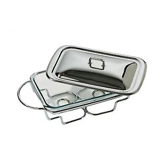 Premier Food Warmer Stainless Steel and Marinex Glass 2.2 Litre