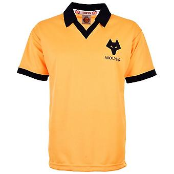 Wolves 1979-1982 Home Retro Football Shirt