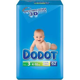 Dodot 4 - 10 Kg. 62 (Jeugd , Nappies and Changers , Nappies)