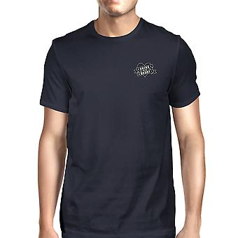 World's Best Dad Mens Navy Vintage T-Shirt Fathers Day Gift For Him