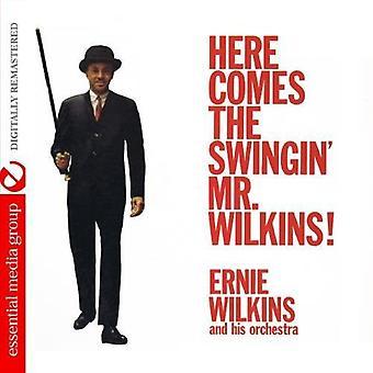 De Ernie Wilkins & su orquesta - aquí viene el Swingin' Sr. Wilkins! [CD] USA importación