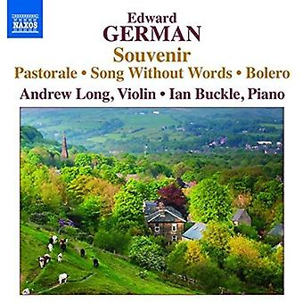 Allemand / Long, Andrew Buckle, Ian - oeuvres pour violon & Piano [CD] USA import /