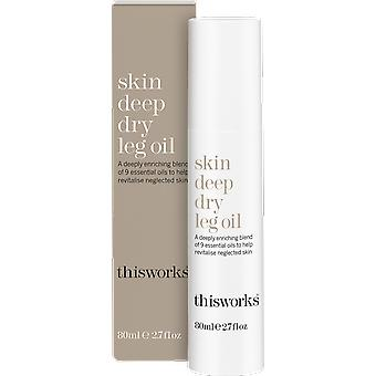 This Works Skin Deep Dry Leg Oil Limited Edition