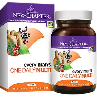 New Chapter Every Man's One Daily Tablets 24 Ct