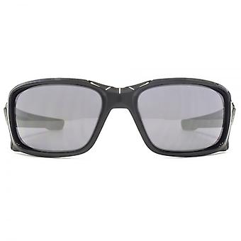 Oakley Straightlink Sonnenbrille In Polished Black Black Iridium