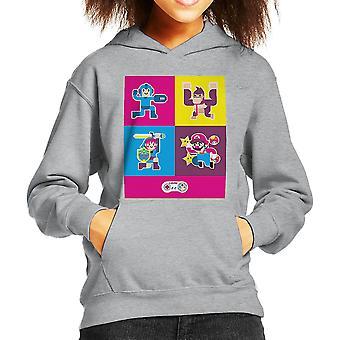 Super Nintendo Charaktere Kinder Sweatshirt mit Kapuze