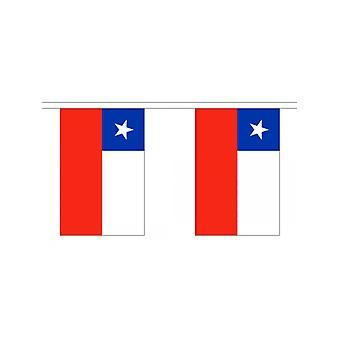 Girlande 6m 20 Flagge Chile