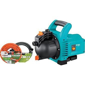 Gardena Kit - Pump 3000/4 full ClassicKit surface with 20 m hose 13 mm (1/2  ) with acces