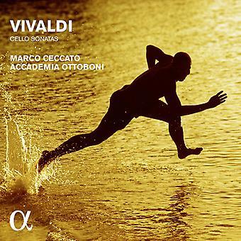 Vivaldi / Ceccato, Marco / Accademia Ottoboni - Vivaldi: Cello sonater [CD] USA import