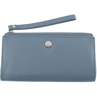 Dents Smooth Wristlet Purse - Blue