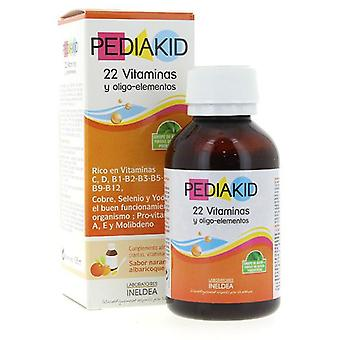 Ineldea Vitamins and Trace Elements 22 Pediakid Syrup 125M