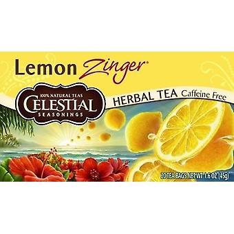 Celestial krydderier citron Zinger te