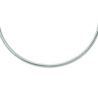 Sterling zilveren Hollow gepolijst nek kraag Collier - 11,3 gram