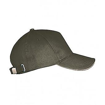 SOLS Unisex Long Beach Cap