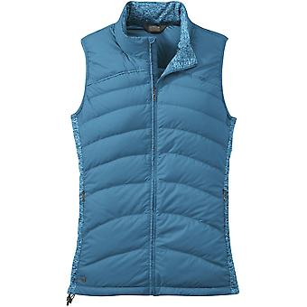 **SALE**Outdoor Research Womens PLaza Down Vest Oasis (UK Size 14)