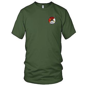 Ejército de los E.E.U.U. - 4to Batallón 3 º aviación caballería regimiento S tropa bordado parche - señoras T Shirt
